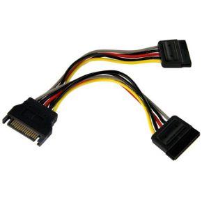 StarTech.com 15cm SATA Voedingskabel Y-adapter M-F
