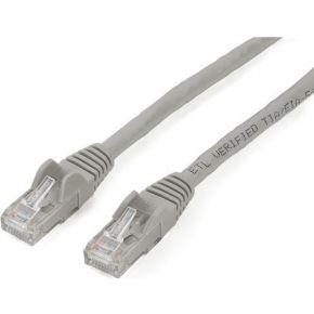 StarTech.com RJ45 UTP Cat6 Gigabit Netwerkkabel zonder Uitsteeksels verbindingskabel 2 m grijs