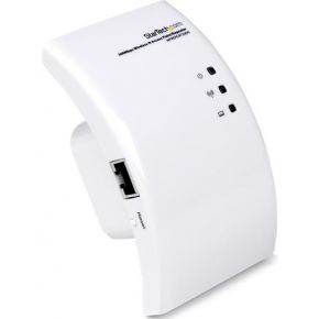 StarTech.com Wi-Fi Draadloze Range Extender 300 Mbit-s 802.11 b-g-n Access Point-Repeater-Signaalver