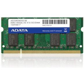 Image of ADATA AD2S800B2G6-B 2GB DDR2 800MHz geheugenmodule