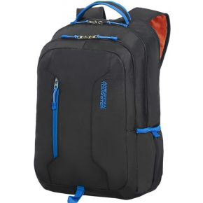 "Image of American Tourister Oceanside Urban Groove 15.6"""" Rugzak Zwart, Blauw"