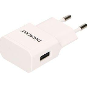 Duracell DRACUSB3W-EU Binnen Wit oplader voor mobiele apparatuur