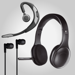 Headphones, headsets en meer