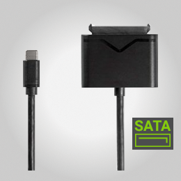 USB-C/SATA HDD+SSD adapter