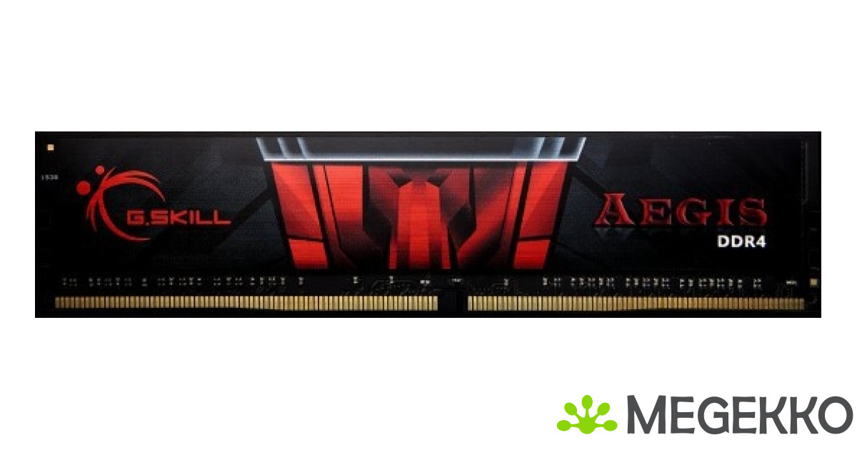 2400 MHz F4-2400C15S-4GIS G.Skill AEGIS DIMM 288-pin DDR4-4 GB