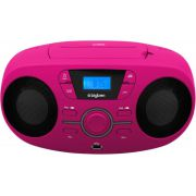 Bigben Interactive CD61RSUSB Portable CD player Roze cd-speler