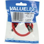Valueline-FTP-CAT-6-network-cable-0-25m-Rood