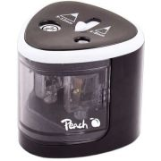 Peach PO102 Electric pencil sharpener Zwart, Wit