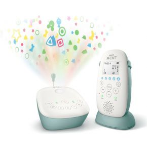 Philips AVENT SCD731/26 330m Groen, Wit baby-videomonitor