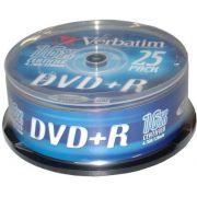 DVD+R Verbatim 16X 25st. Spindle