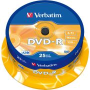 DVD-R Verbatim 16X 25st. Spindle