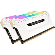 Corsair DDR4 Vengeance RGB Pro 2x16GB 3000 White Geheugenmodule