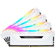 Corsair DDR4 Vengeance RGB Pro 4x16GB 3200 White Geheugenmodule