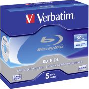 Blu-ray Verbatim 50GB 6X 5st. Recordable