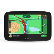 "TomTom GO ESSENTIAL 6"" navigator 15,2 cm (6"") Touchscreen Handheld/Fixed Zwart 262 g"