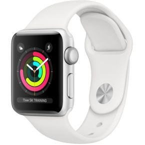Apple Watch Series 3 smartwatch Zilver OLED GPS - [MTEY2DH/A]