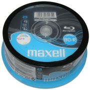 Blu-ray Maxell 25GB 25st. Spindle Recordable Printable