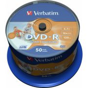 DVD-R Verbatim 16X 50st. Spindle printable