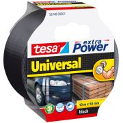 TESA extra Power Universal duct tape Zwart 10 m