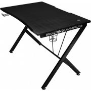Trust GXT 711 Gaming Desk computerbureau Zwart