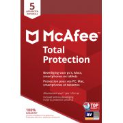 McAfee Total Protection, 5 Devices (Dutch / French)