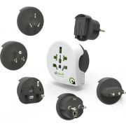Q2Power - World Adapter Qplux World 5in1