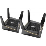 Asus WLAN Router AX6100 Wi-Fi System (RT-AX92U 2 Pack)
