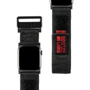 Urban Armor Gear 19149A114040 smartwatch-accessoire Band Zwart Nylon, Roestvrijstaal