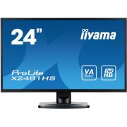 "iiyama 24"" TFT ProLite X2481HS-B1 Zwart Full HD PC-flat panel monitor"