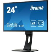 "Iiyama TFT 24"" ProLite XB2481HS-B1 Zwart Full HD LED display monitor"