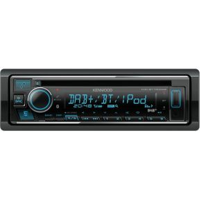 Kenwood KDC-BT730DAB autoradio Zwart 88 W Bluetooth