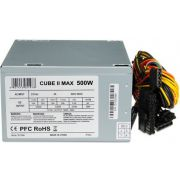 iBox CUBE II power supply unit 500 W ATX Zilver PSU / PC voeding