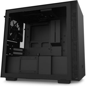 NZXT H210 Black - Black Mini ITX Behuizing