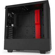 NZXT H510i Black - Red Midi Tower Behuizing