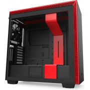 NZXT H710i Black - Red Midi Tower Behuizing