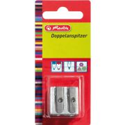 Herlitz 8680324 potloodslijper Manual pencil sharpener Metallic