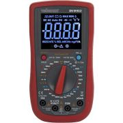 Velleman Digitale Multimeter - Cat Iii 700 V / Cat Iv 600 V - 15a - True Rms - Ncv - 6000 Counts + Meetsnoer