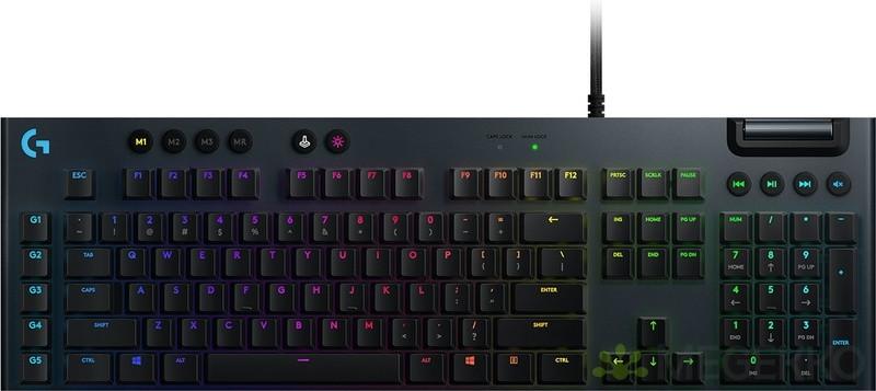 Logitech-G G815 Lightsync RGB GL Tactile Qwerty US