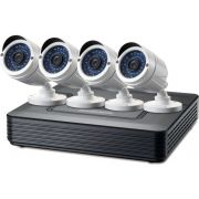 Level One DKS-4001 4-Channel CCTV Kit