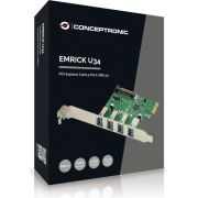 Conceptronic EMRICK02G interfacekaart/-adapter USB 3.0 Intern