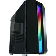 LC-Power Gaming 702B -Toren Zwart Midi Tower Behuizing