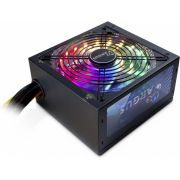 Inter-Tech Argus RGB-600W II power supply unit ATX Zwart PSU / PC voeding
