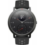 Withings Steel HR Sport smartwatch Zwart Analoog