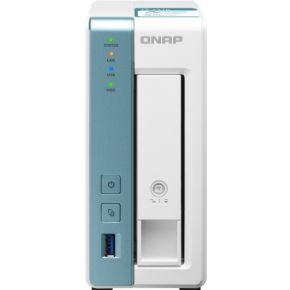 QNAP TS-131K data-opslag-server Ethernet LAN Toren Wit NAS