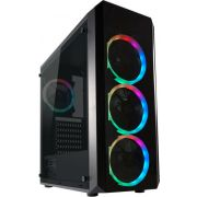 LC-Power Gaming 703B -Toren Zwart Midi Tower Behuizing