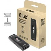 CLUB3D 1007 video kabel adapter DisplayPort Zwart