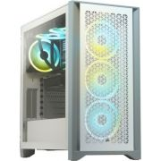 Corsair 4000D Airflow Tempered Glass White Midi Tower Behuizing