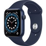 Apple Watch Series 6 OLED Blauw GPS