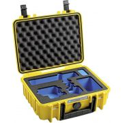 B&W GoPro Case Type 1000 Y yellow with GoPro 9 Inlay