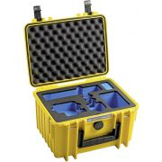B&W GoPro Case Type 2000 Y yellow with GoPro 9 Inlay